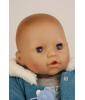 Кукла малыш Эми в зимнем с голубой пустышкой (45 см)