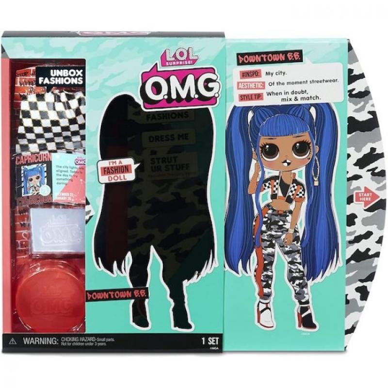 Downtown B.B. кукла ЛОЛ - LOL Surprise! OMG