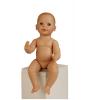 Кукла Реборн мальчик в ярком наряде (40 см)