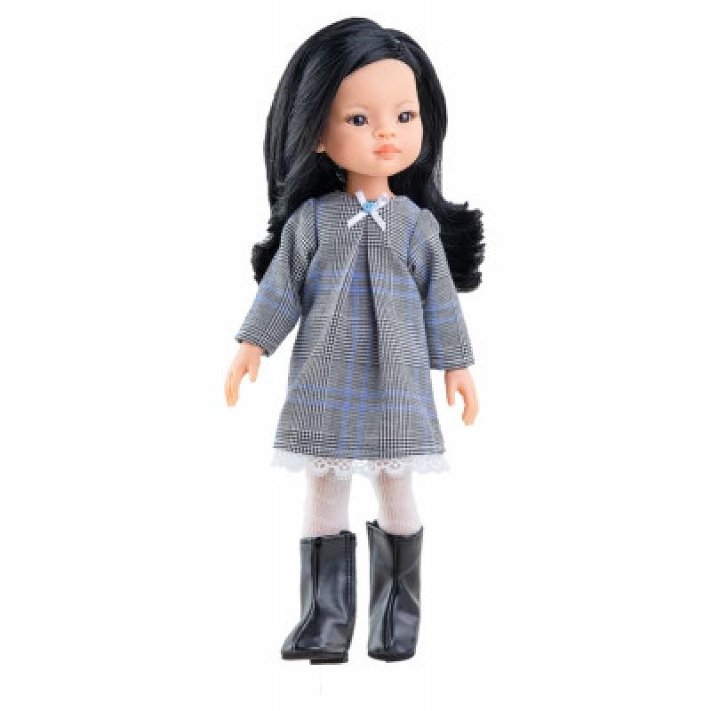 Кукла Паола Рейна - Лиу в осеннем наряде