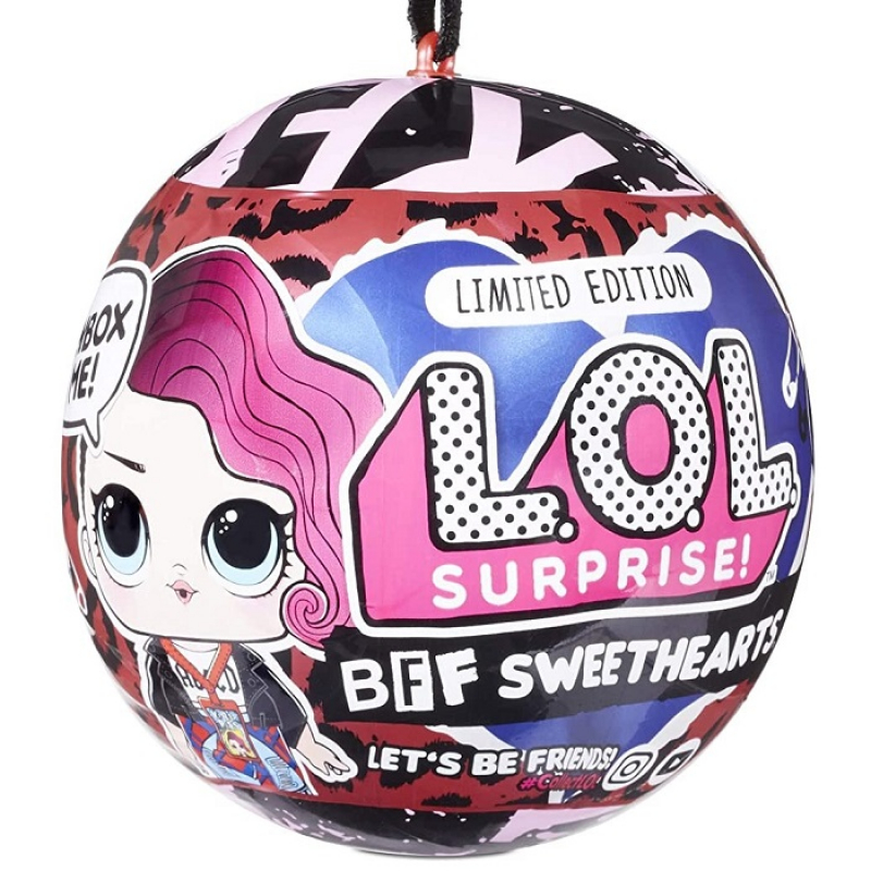 L.O.L. Surprise! Limited Edition BFF Sweethearts Rocker Supreme