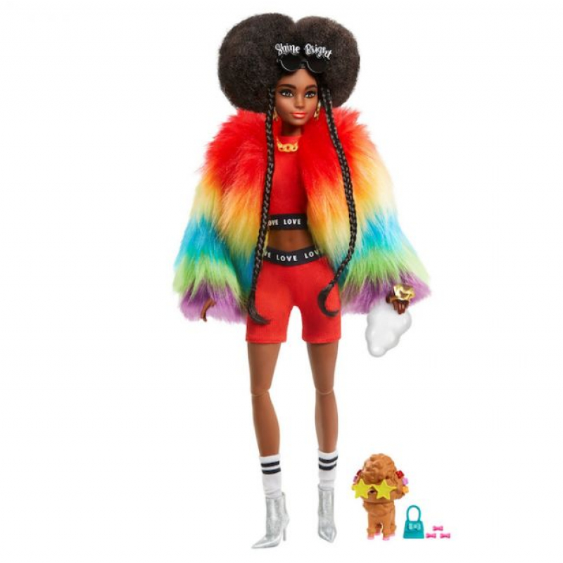 Barbie Extra Doll Brunette AA Doll Swag Chick Nikki