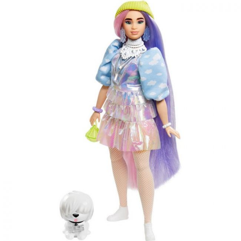 Barbie Extra Curvy Doll Candy Queen Lea