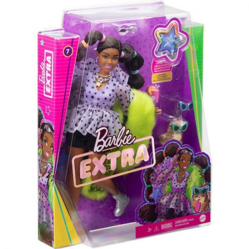 Barbie Extra Doll 2021 Pigtails