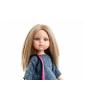Кукла Паола Рейна - Карла в платье в горошек с сумкой-мышкой