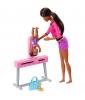 Barbie Gymnastics Coach Doll & Playset