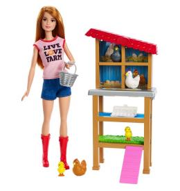 Игровой набор Barbie Профессии - Куриный фермер