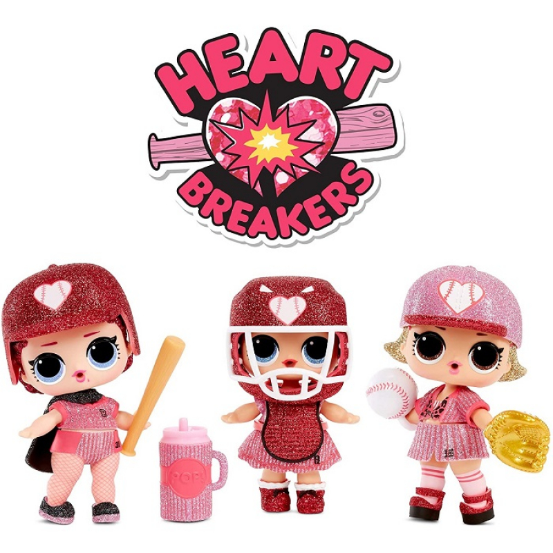 L.O.L. Surprise! All-Star B.B.s Heart Breakers Sports