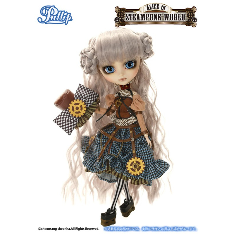 Безумный Шляпник Стимпанк кукла Пуллип - Pullip Mad Hatter in Steampunk World