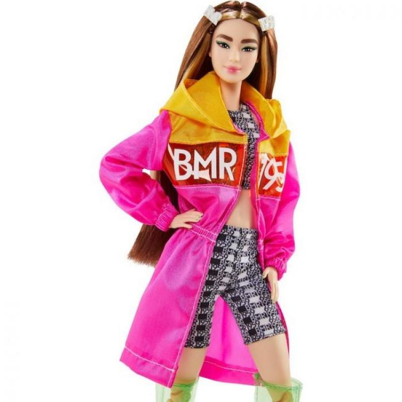 Barbie BMR1959 в розовом плаще